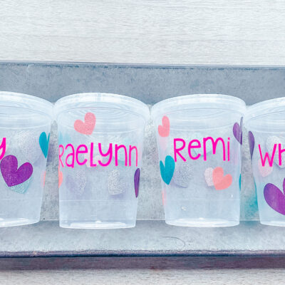 DIY Personalized Tumblers for Kids