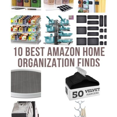 10 of The Best Amazon Home Organization Finds