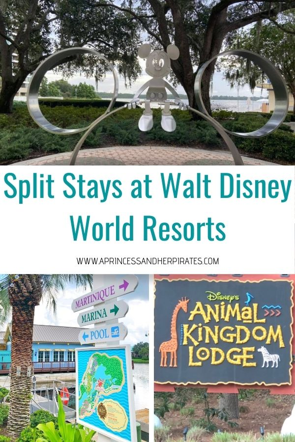 Split Stays at Walt Disney World Resorts