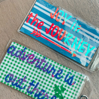 How to Make DIY Luggage Tags
